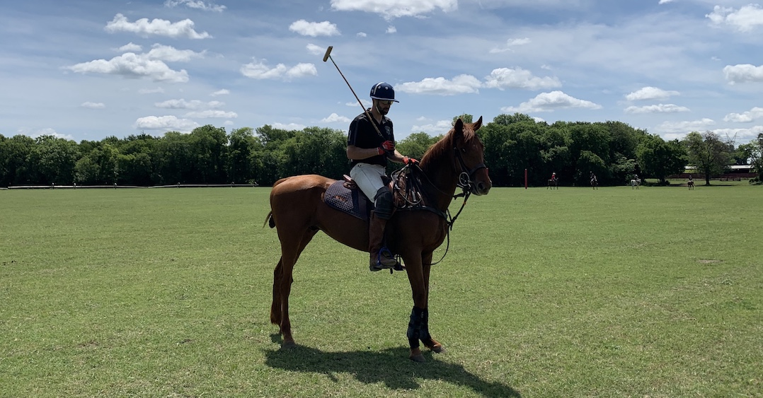 player with the Dallas Polo Club